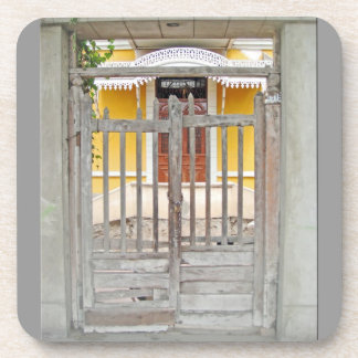 Gate to an Old House - Magdalena del Mar Drink Coaster