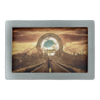 Gate to Another World Belt Buckle