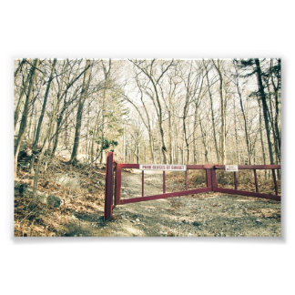 Gate to Hearthstone Castle Photo Print