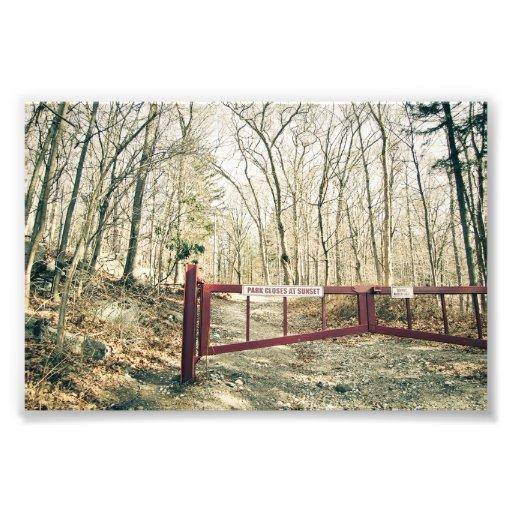 Gate to Hearthstone Castle Photo Print