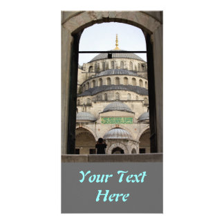 Gate to the Blue Mosque Photo Greeting Card