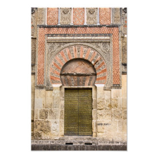 Gate to the Mezquita Cathedral in Cordoba Photo Print