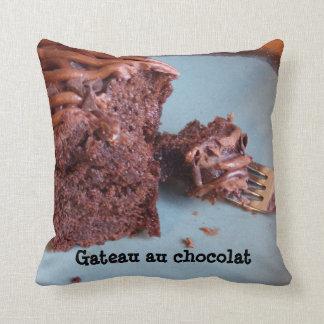 Gateau au chocolat  Pillow