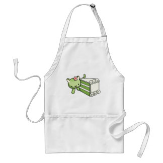 Gateau Matcha Kitty Adult Apron