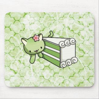Gateau Matcha Kitty Mouse Pad
