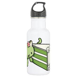 Gateau Matcha Kitty Stainless Steel Water Bottle