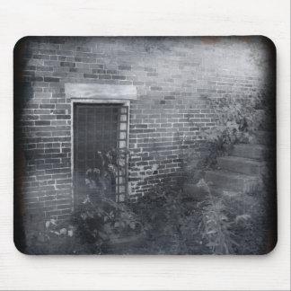 Gated Door - Daguerreotype Mouse Pad