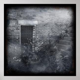 Gated Door - Daguerreotype Poster