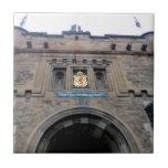 Gatehouse del castillo de Edimburgo Azulejos