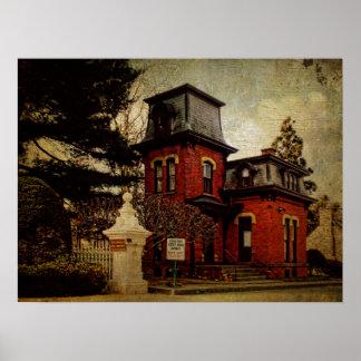 Gatehouse del cementerio posters