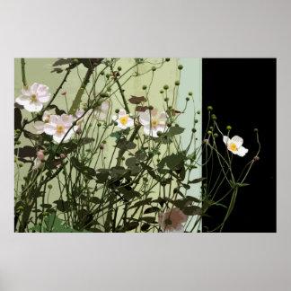 GATEHOUSE FLOWERS POSTER