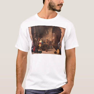 Gatehouse with Saint Peter Delivered David Teniers T-Shirt