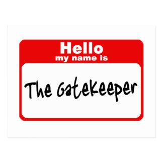 Gatekeeper2 Postcard