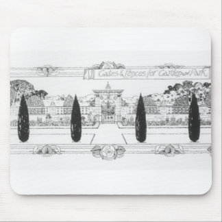 Gates and fences for garden and park, from 'The Ar Mouse Pad