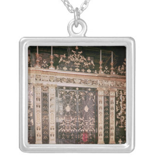 Gates from the Sanctuary screen Silver Plated Necklace