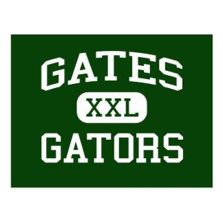 Gates - Gators - High School - Tacoma Washington Postcards