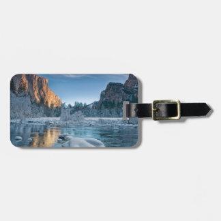 Gates in Yosemite Travel Bag Tag