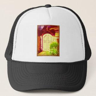 Gates-Iron Scrolling Trucker Hat