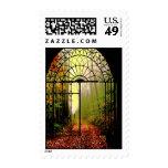 Gates of Autumn Stamp
