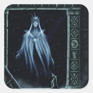 gates of eternity square sticker
