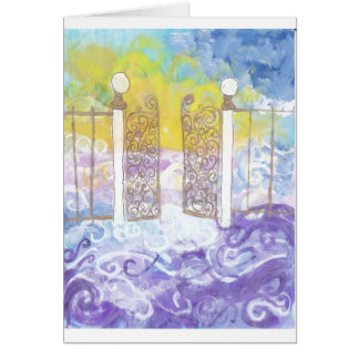 Gates of Heaven Greeting Card