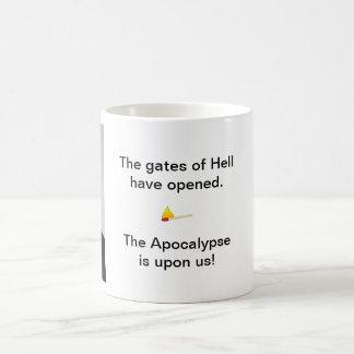 Gates of Hell Classic White Coffee Mug