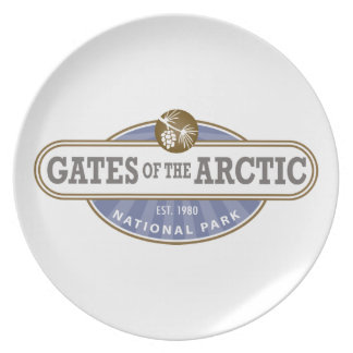 Gates of the Arctic National Park Dinner Plate
