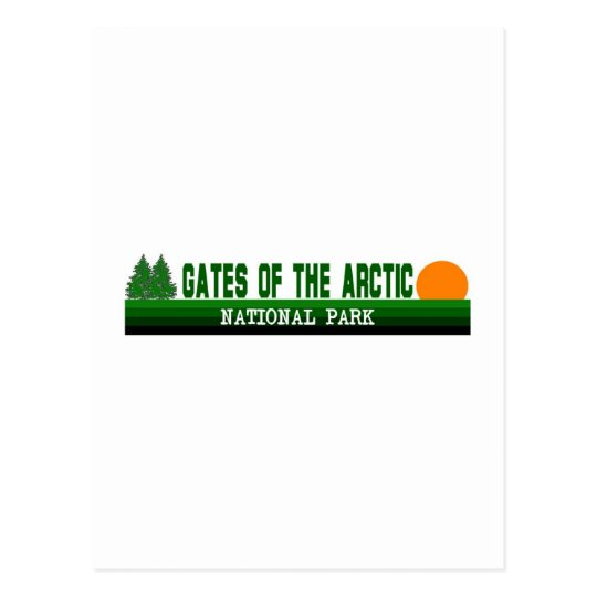 Gates of the Arctic National Park Postcard