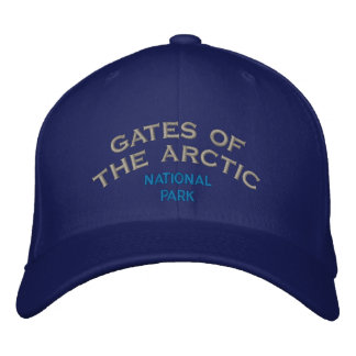 Gates Of The Artic National Park Embroidered Baseball Cap