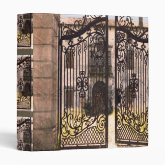 Gates Window View Building Graphic Digital Binder
