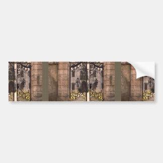 Gates Windows Bridge Artistic Return+Gift Giveaway Bumper Sticker