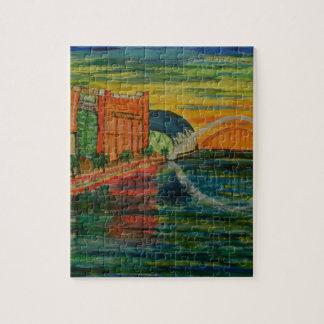 Gateshead quayside puzzles