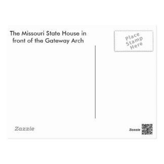 Gateway and Statehouse Postcard