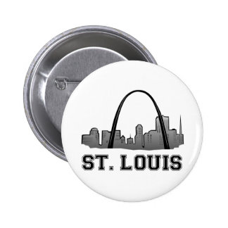 Gateway Arch in St. Louis Pinback Buttons