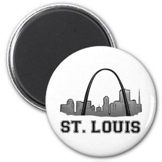 Gateway Arch in St Louis Magnet