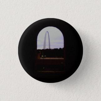 Gateway Arch Small, 1¼ Inch Round Button