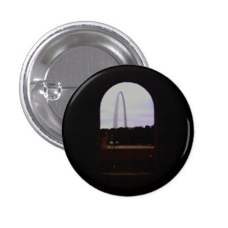 Gateway Arch Small, 1¼ Inch Round Button