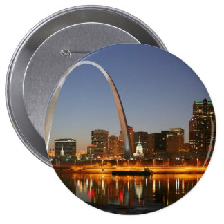 Gateway Arch St. Louis Mississippi at Night Pins