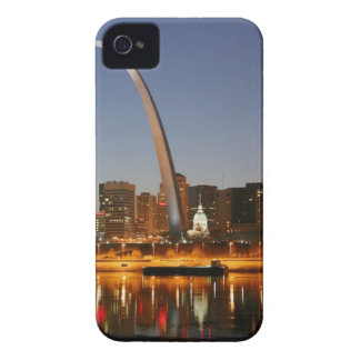Gateway Arch St. Louis Mississippi at Night iPhone 4 Cover
