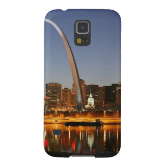 Gateway Arch St. Louis Mississippi at Night Galaxy S5 Case