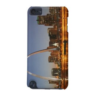 Gateway Arch St. Louis Mississippi at Night iPod Touch (5th Generation) Cases