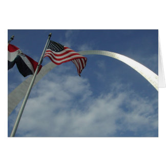 Gateway Arch, St. Louis, Missouri Greeting Cards
