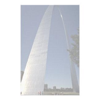 Gateway Arch, St. Louis, Missouri, USA Customized Stationery
