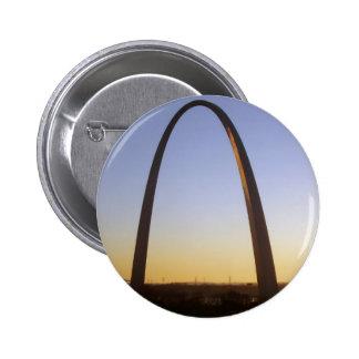 Gateway Arch, St. Louis, MO 2 Inch Round Button