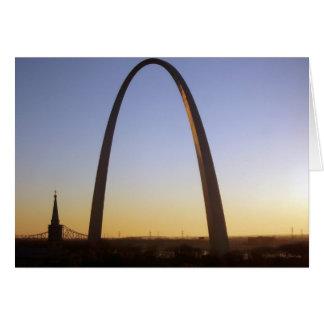 Gateway Arch, St. Louis, MO Greeting Card