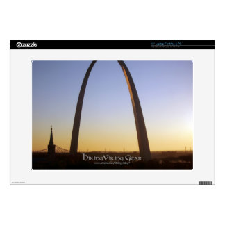 Gateway Arch, St. Louis, MO Decals For Laptops