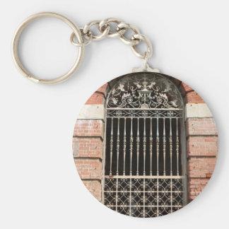 Gateway Basic Round Button Keychain