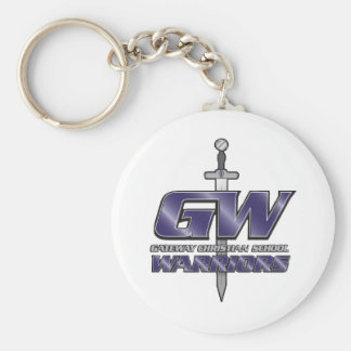 Gateway Christian School Gear Basic Round Button Keychain