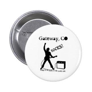 Gateway, CO Pinback Buttons