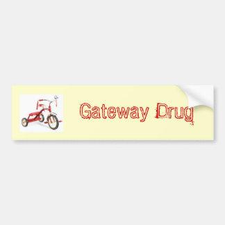 Gateway Drug Bumper Sticker